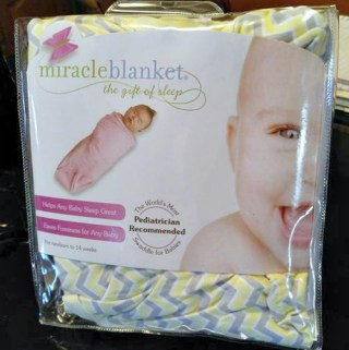 Miracle Blanket®Helps Swaddle And Calm Your Baby