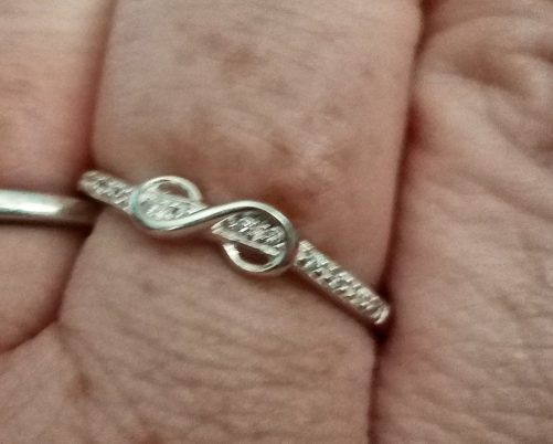 Sterling Silver Empowerment CZ Ring
