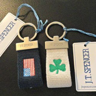 J.T. Spencer Custom Embroidered Belts and Key Fobs