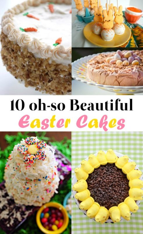10 Beautiful Easter Cake Recipes