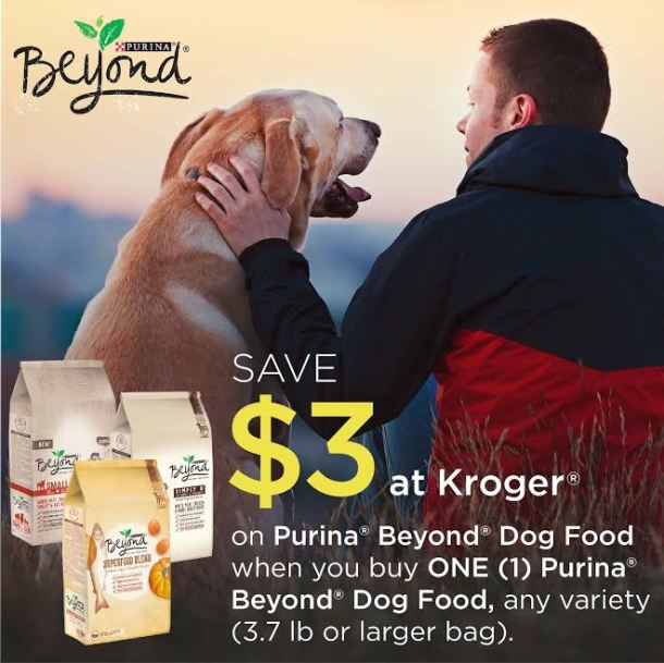 Spring Savings at Kroger for Purina Beyond Dry Dog Food