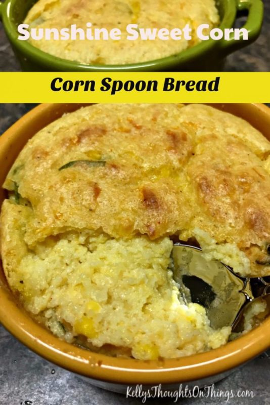 Sunshine Sweet Corn- Corn Spoon Bread Recipe