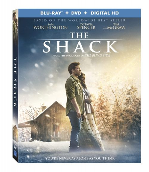 The Shack on Blu-ray/DVD