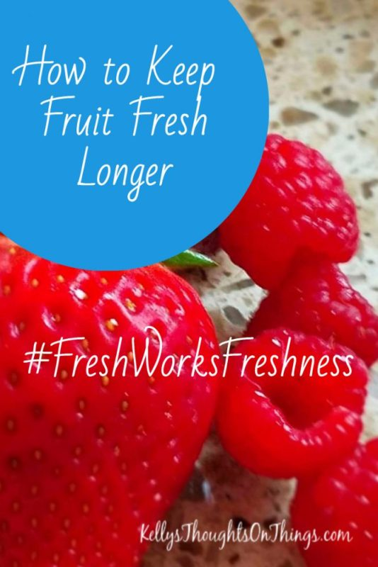 How to keep Fruit Fresh LONGER!