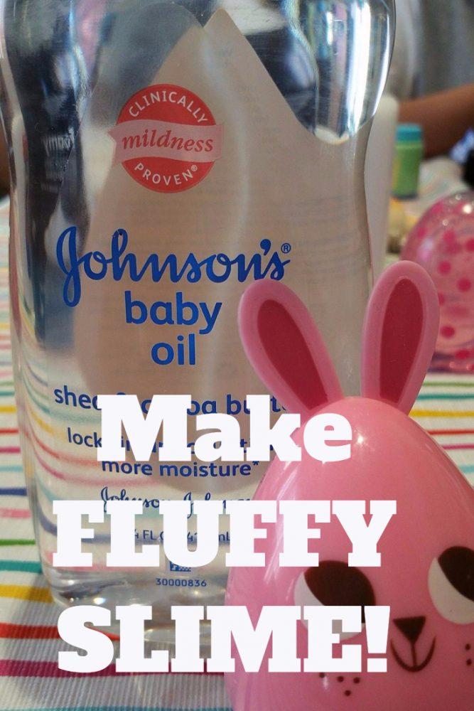 Baby Powder Slime Ingredients : powder, slime, ingredients, Fluffy, Slime, Recipe, Kellys, Thoughts, Things