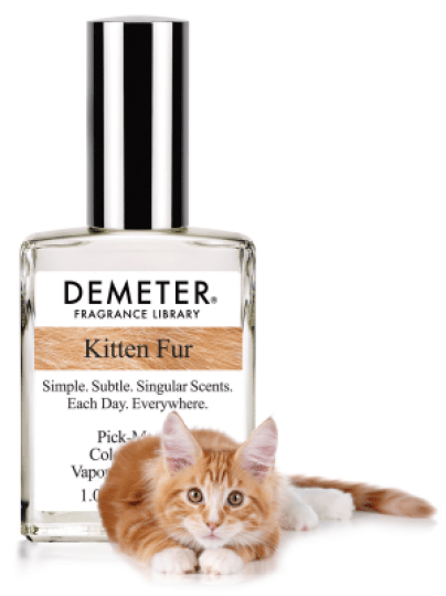 Kitten fur scent