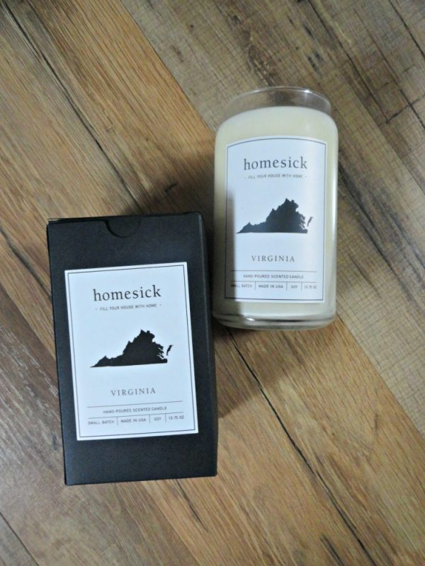Homesick Virginia Candle