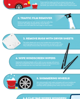 10 Tips to a Squeaky Clean Car