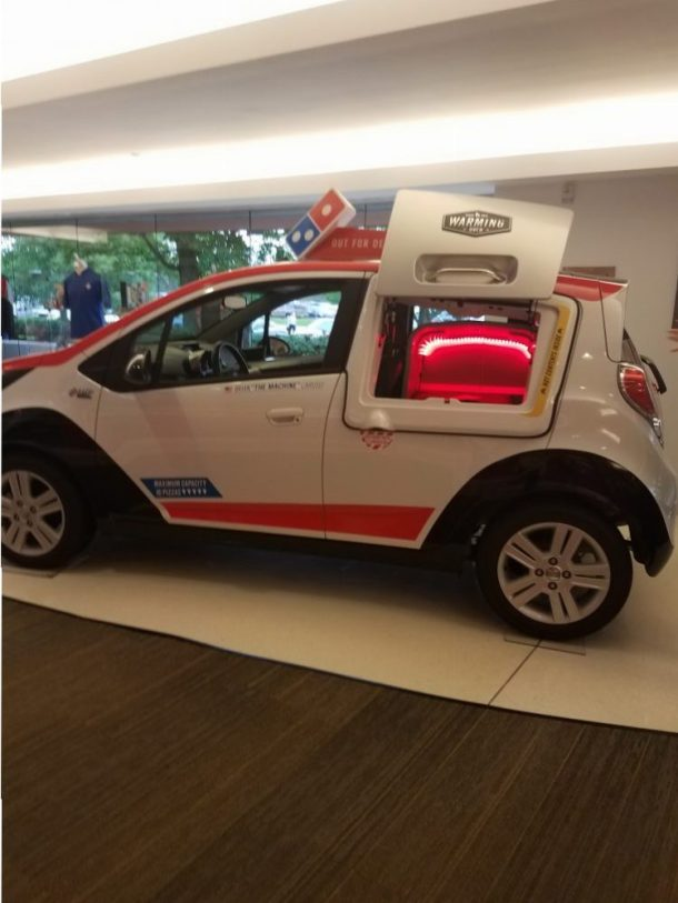 My Amazing Domino's Digital Insiders Day- The DXP Delivery Car