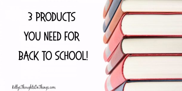 3 Products You NEED for Back To School!