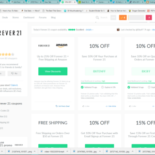 My Favorite Ways To Find Forever 21 Promo Codes