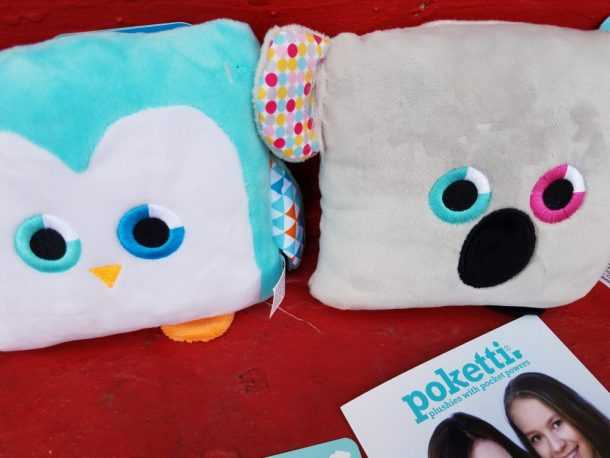 """Poketti is a unique company because it was created by kids to inspire kids. By creating plushie stuffed animal toys with """"Pocket Powers,"""