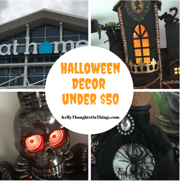 Check out all my Halloween Goodies I got at @Athomestores for under $50! #Halloween #Decor #Ideas for you and never too early to start shopping now! #AtHomeStores #AtHomeFinds #Ad