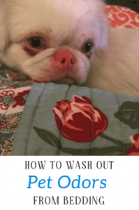 How To Wash Out Pet Odors From Bedding For Good - Kellys ...