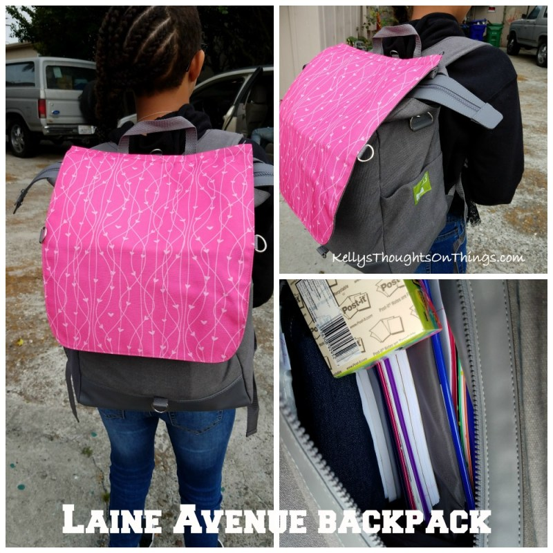 Back To School Backpack -The Laine Avenuebackpacks, the onlybackpackon the market that is customizable with a mix-and-match flap that can also convert into a cross-body purse.