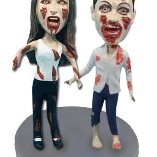 Create One of a Kind and Custom Bobble Heads for Your Halloween Decor