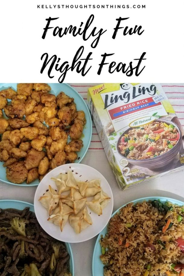 Family Fun Night Feast With Ling Ling Fried Rice