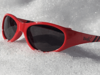 Protect Your Little Ones from Snow Blindness