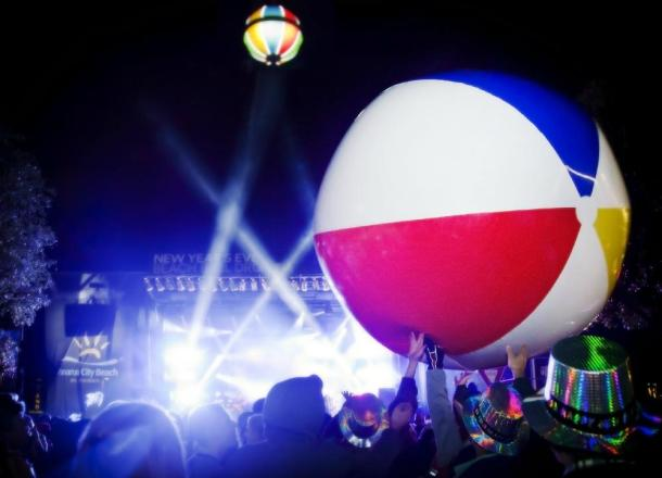 Panama City Beach Invites Families to 10th Annual New Year's Eve Beach Ball Drop