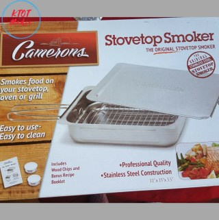 Step up the Cooking Game: Stovetop Smoker