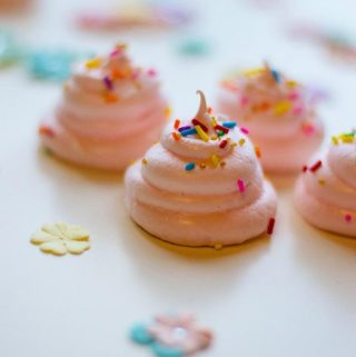 Unicorn Poop Meringue Cookie Recipe