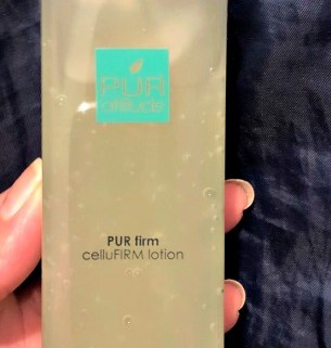 Keep Skin Firm and Glowing with PUR attitude PUR firm CelluFIRM Lotion