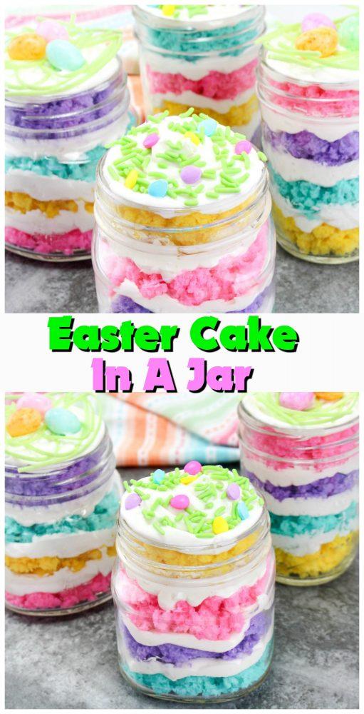 Easter Cake In A Jar Recipe