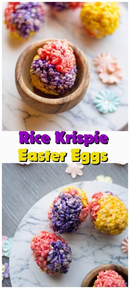 Rice Krispie Easter Eggs Recipe