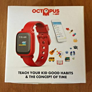 The Octopus Watch is a SmartWatch for Kids