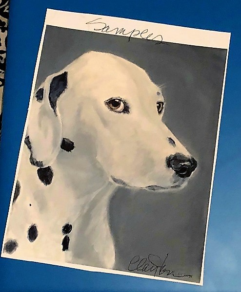Celebrate Your Special Pets with a Custom Pet Portrait from LouLou Clayton 2