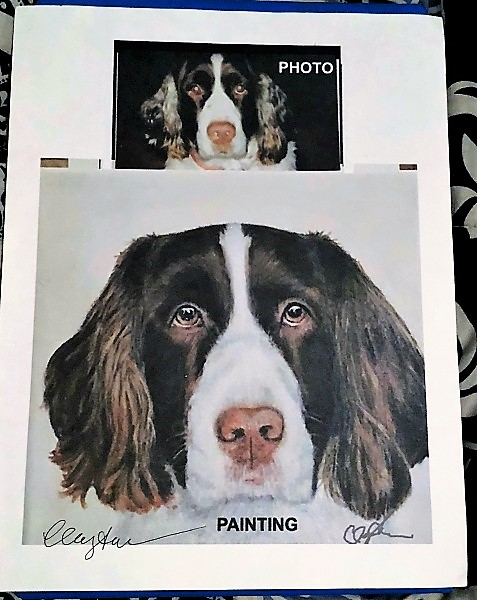 Celebrate Your Special Pets with a Custom Pet Portrait from LouLou Clayton 3