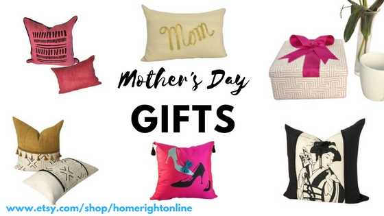 """Choose from home décor pillows or accessories that best suit you or the mother you love from Traditional; Boho; Global or Glam Styles – because """"She's not your ordinary Mom"""". SPECIAL NOTE: ** MOTHER'S DAY SPECIAL: 2-DAY PRIORITY SHIPPING ON ALL ORDERS!**"""