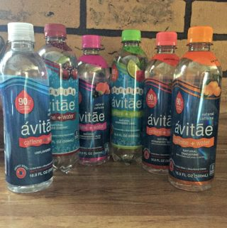 Avitae Caffeinated Water for a Healthy Boost