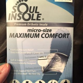 Wearing Soul Insoles Makes my Feet Happy