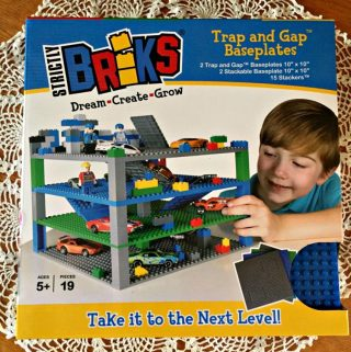 If Your Little One Likes to Build, They Will Love Strictly Briks Trap and Gap Baseplates