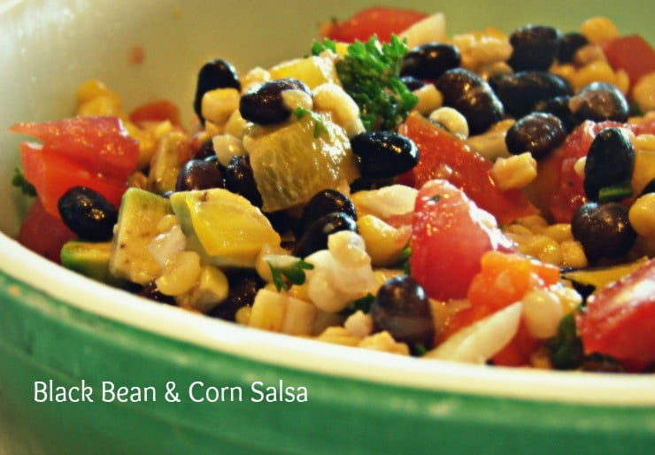 Easy Black Bean Corn Salsa