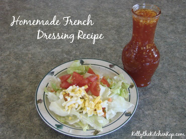 homemade french dressing recipe