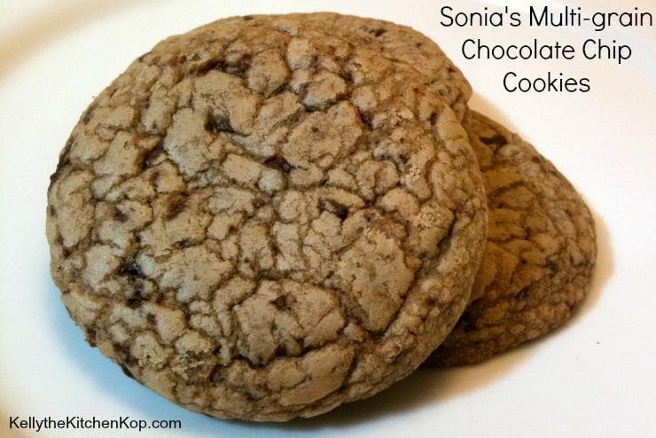 Multi-Grain Chocolate Chip Cookies
