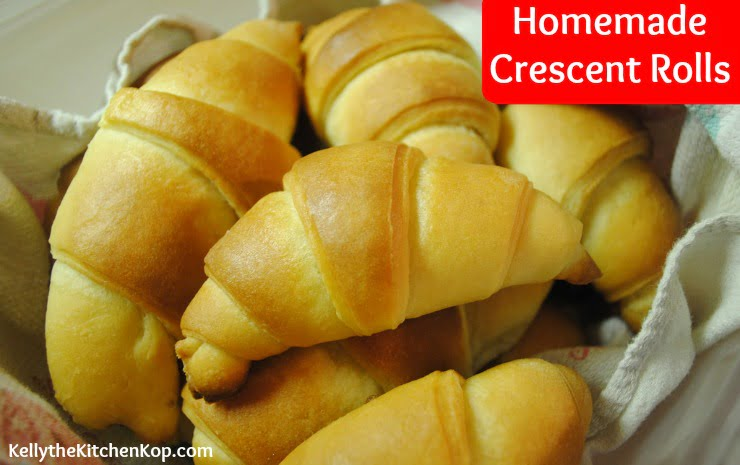 Soaked Crescent Rolls