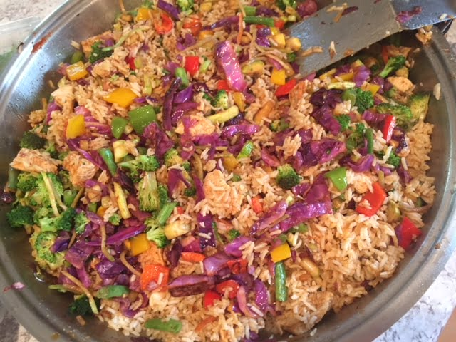 Thai Vegetable Stir-Fry with Beef or Chicken