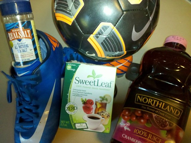 all natural sports drink no more gatorade  kelly the
