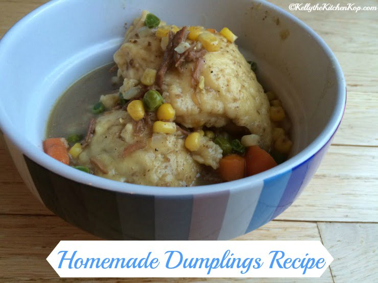Homemade Dumplings Recipe