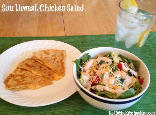 Southwest Chicken Salad meal