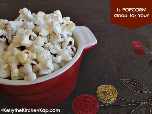 popcorn good or bad