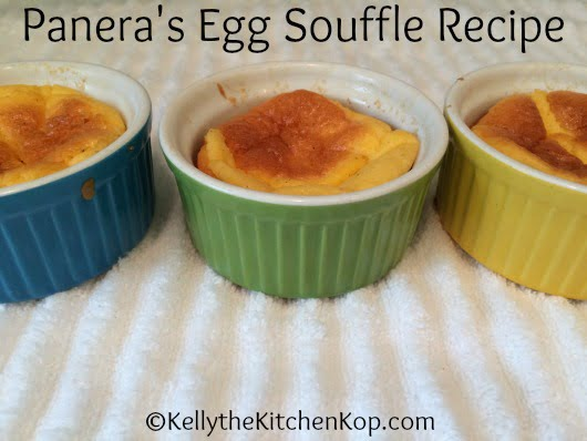 Panera Egg Souffle Recipe 1