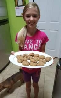 made the oatmeal cookies