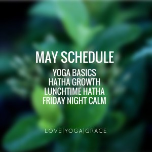 may scheduleexciting new class!