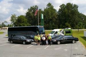 The Kelly Tours Executive Transportation Team