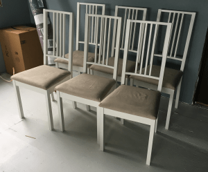 After - completed chairs