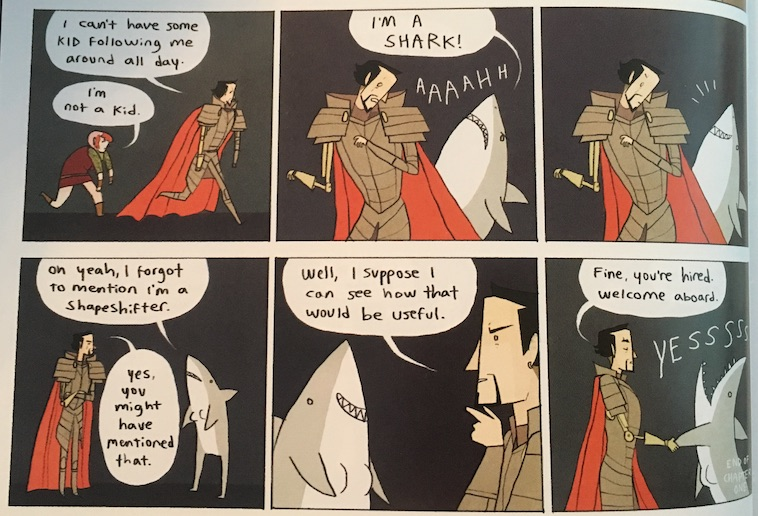 Review Nimona by Noelle Stevenson  Kelly Vincent